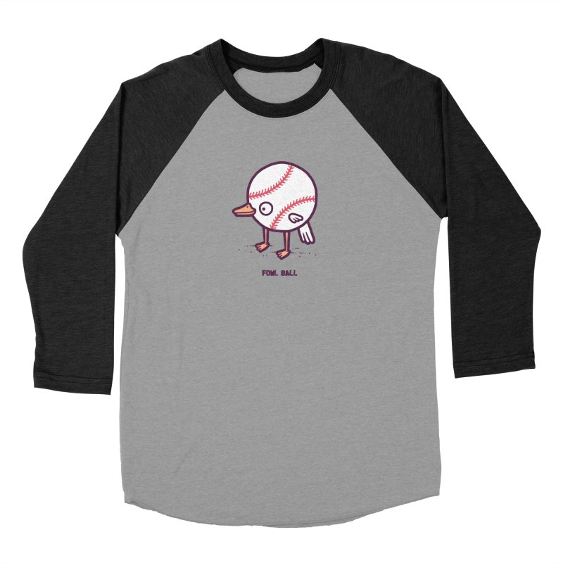 Fowl ball Men's Baseball Triblend T-Shirt by Randyotter
