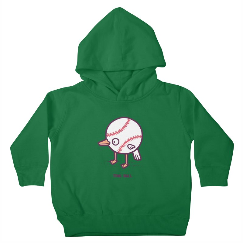Fowl ball Kids Toddler Pullover Hoody by Randyotter