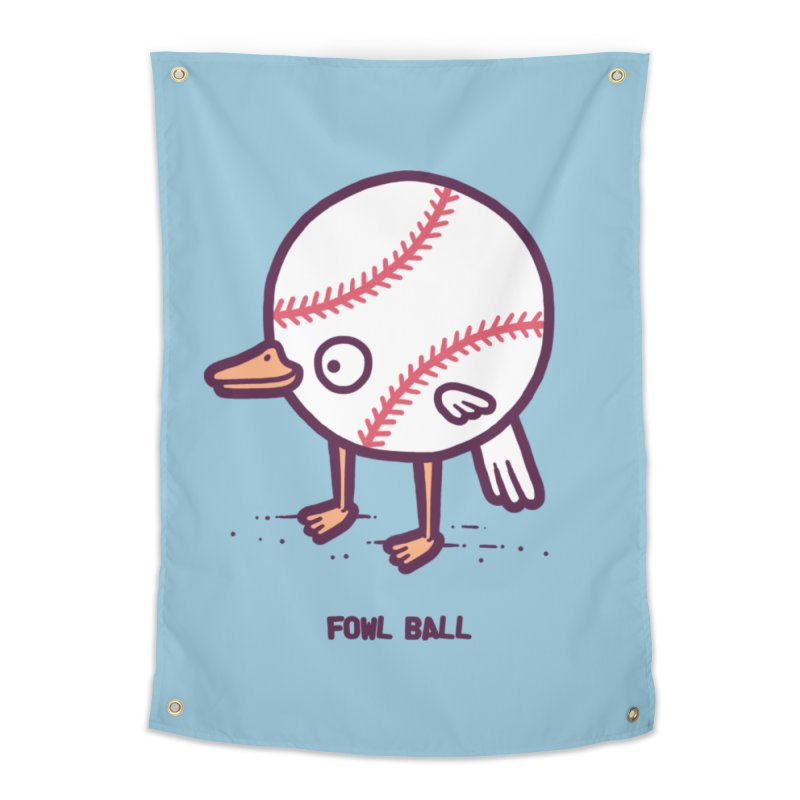 Fowl ball Home Tapestry by Randyotter