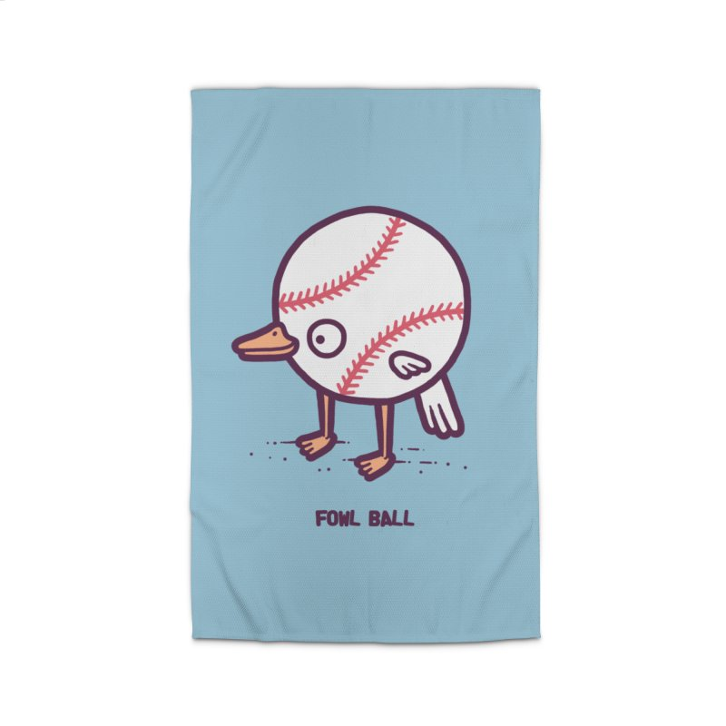 Fowl ball Home Rug by Randyotter