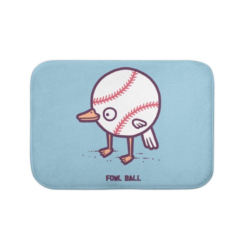 Fowl ball Home Bath Mat by Randyotter