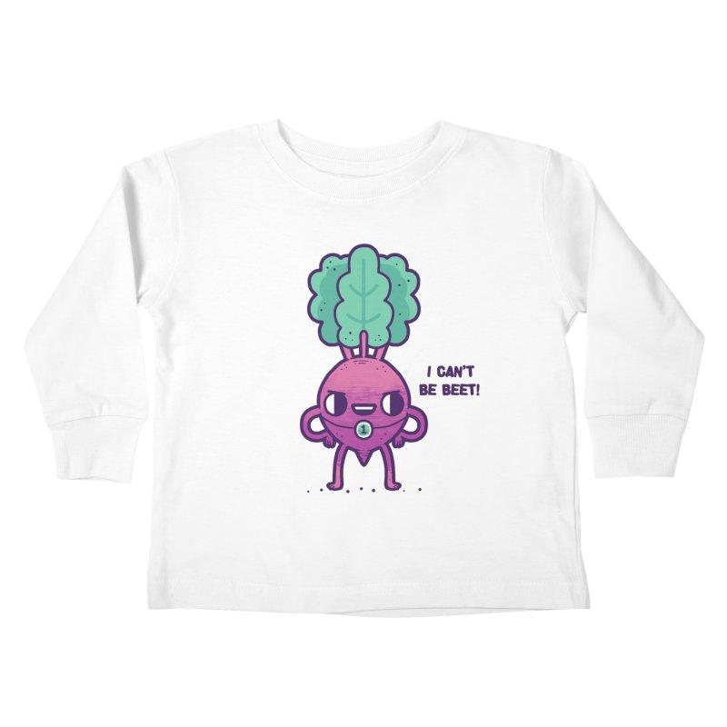 Can't be beet! Kids Toddler Longsleeve T-Shirt by Randyotter