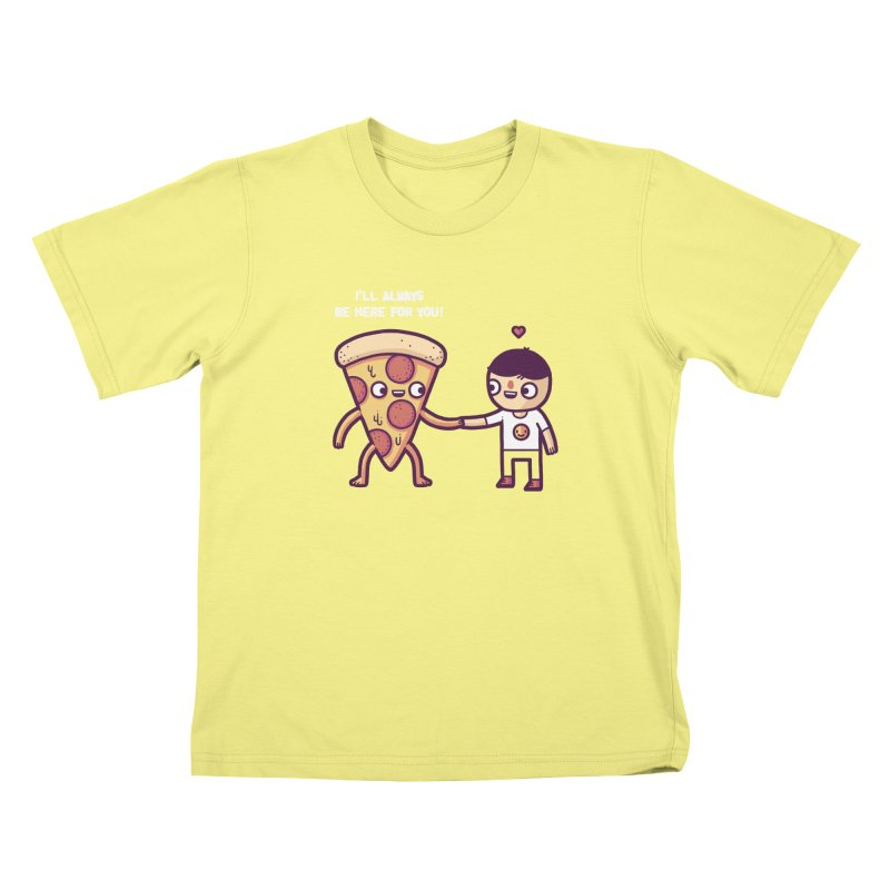Here for you Kids T-shirt by Randyotter