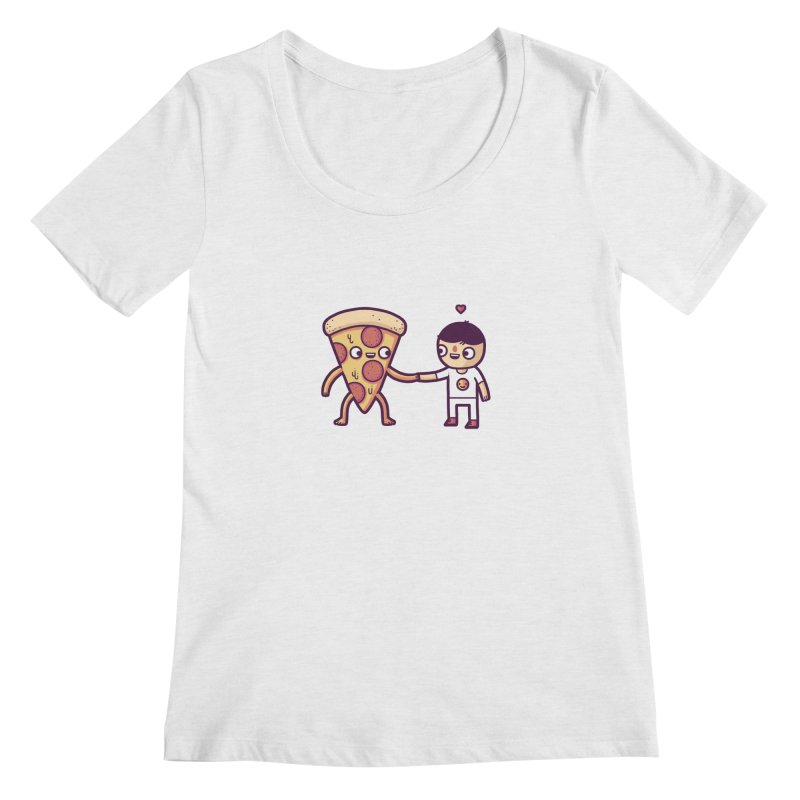 Here for you Women's Scoopneck by Randyotter