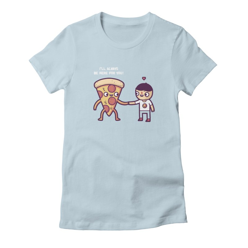 Here for you Women's Fitted T-Shirt by Randyotter