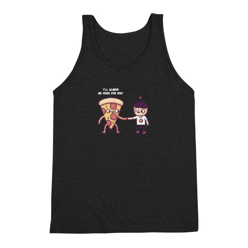 Here for you Men's Triblend Tank by Randyotter