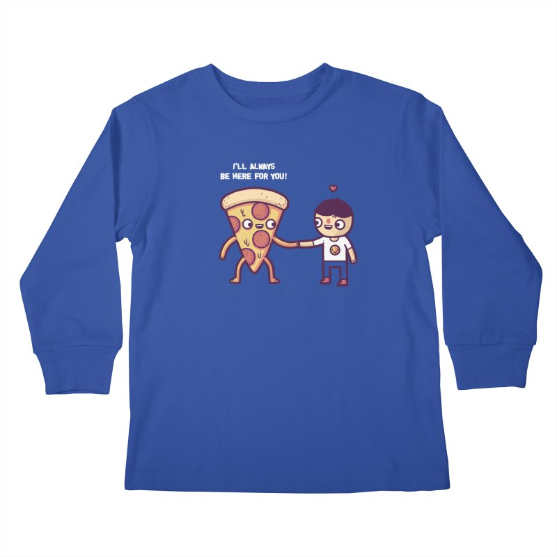 Here for you Kids Longsleeve T-Shirt by Randyotter