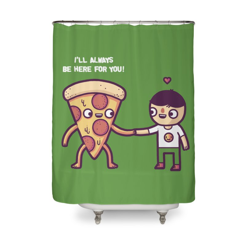 Here for you Home Shower Curtain by Randyotter
