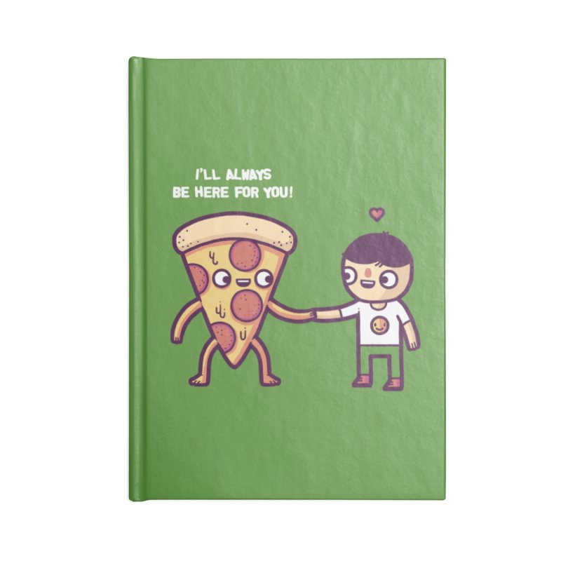 Here for you Accessories Notebook by Randyotter