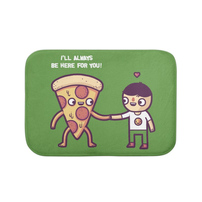 Here for you Home Bath Mat by Randyotter