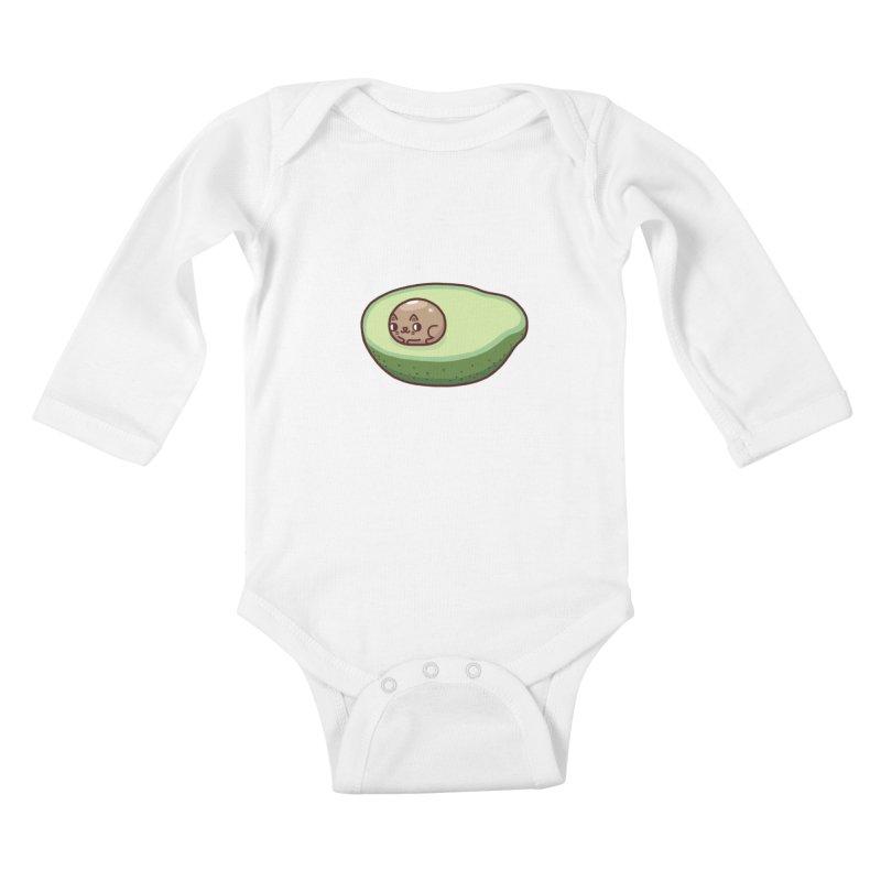 Avocatdo Kids Baby Longsleeve Bodysuit by Randyotter