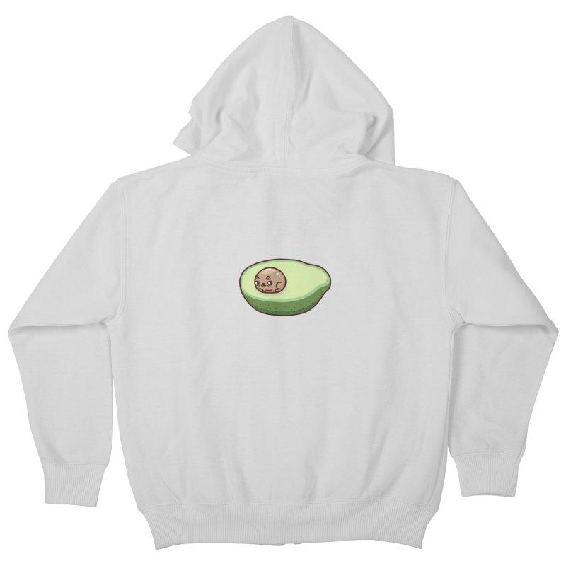 Avocatdo Kids Zip-Up Hoody by Randyotter