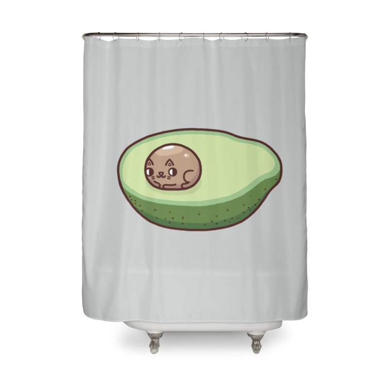Avocatdo Home Shower Curtain by Randyotter