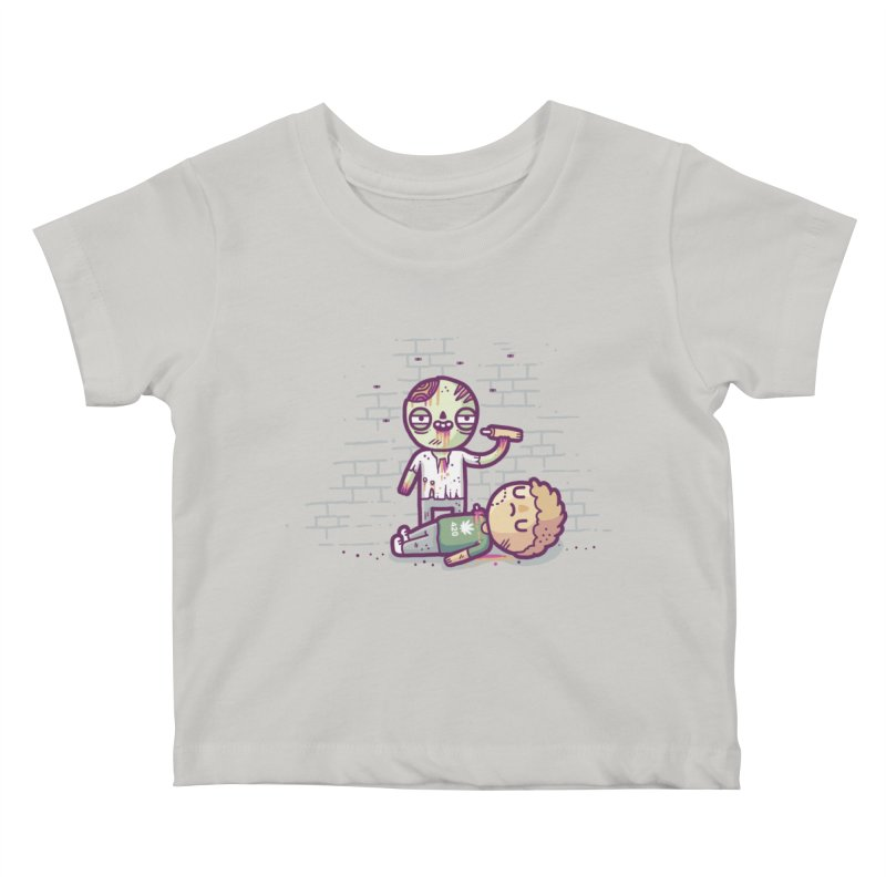 Munchies Kids Baby T-Shirt by Randyotter