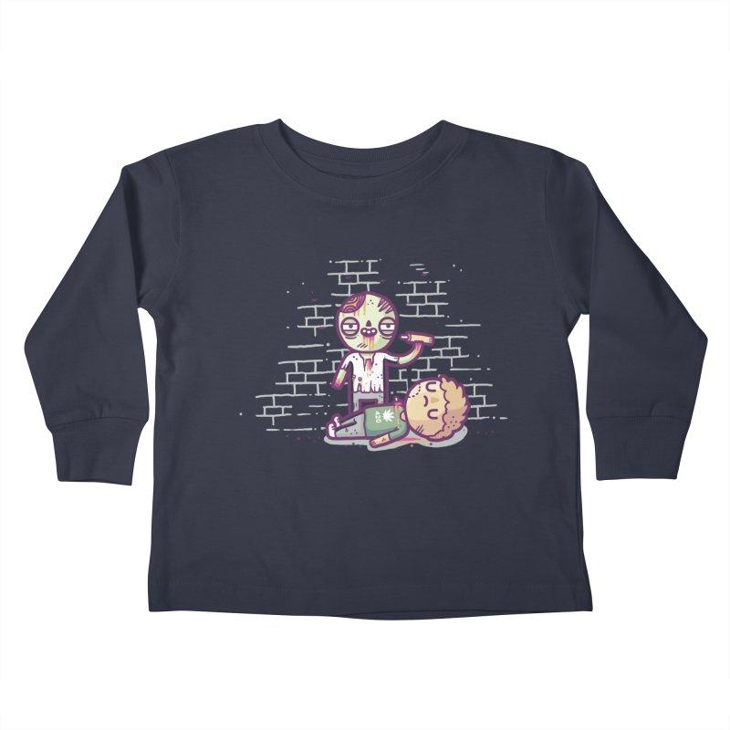 Munchies Kids Toddler Longsleeve T-Shirt by Randyotter