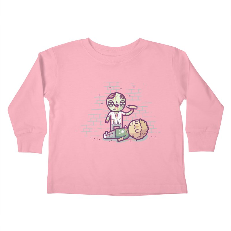 Munchies Kids Toddler Longsleeve T-Shirt by Randyotter