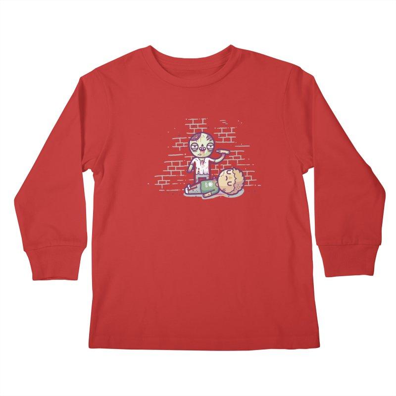 Munchies Kids Longsleeve T-Shirt by Randyotter