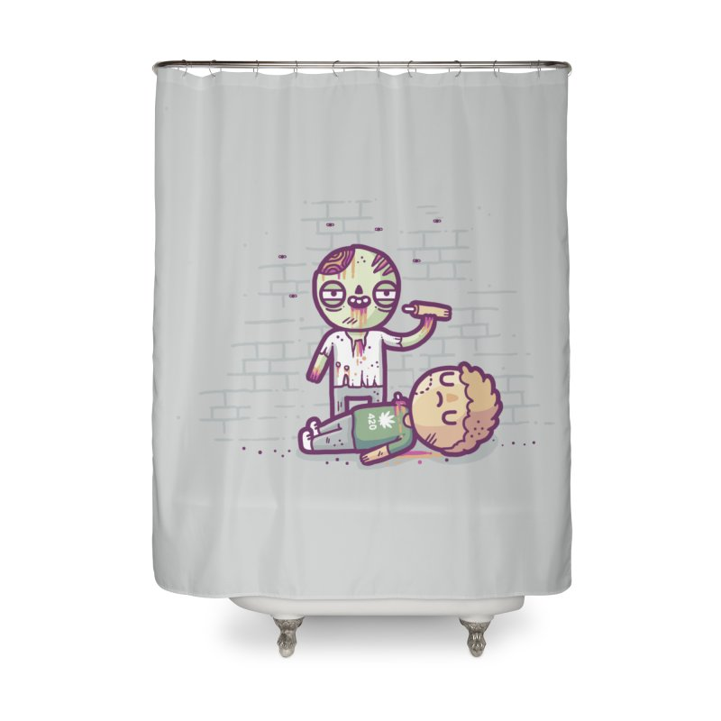 Munchies Home Shower Curtain by Randyotter