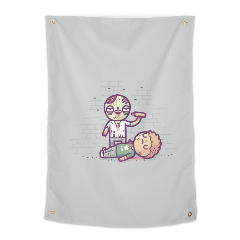 Munchies Home Tapestry by Randyotter