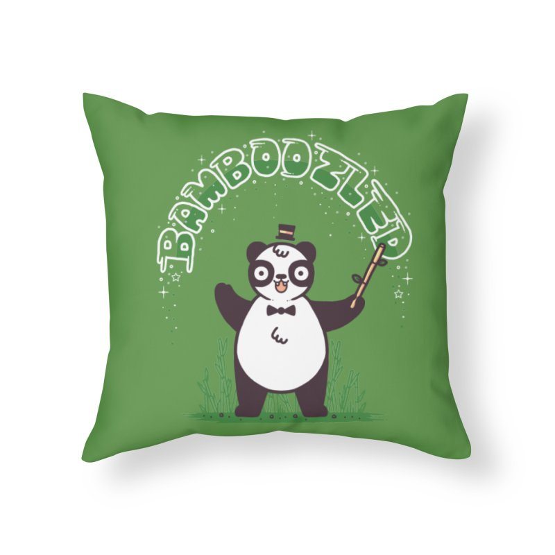 Bamboozled Home Throw Pillow by Randyotter