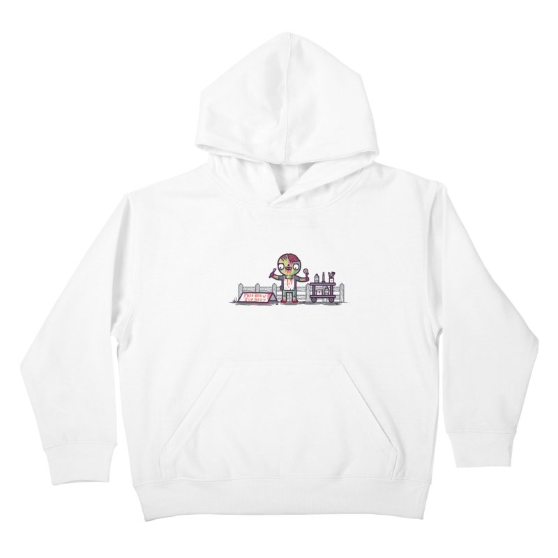 Brain surgery  Kids Pullover Hoody by Randyotter