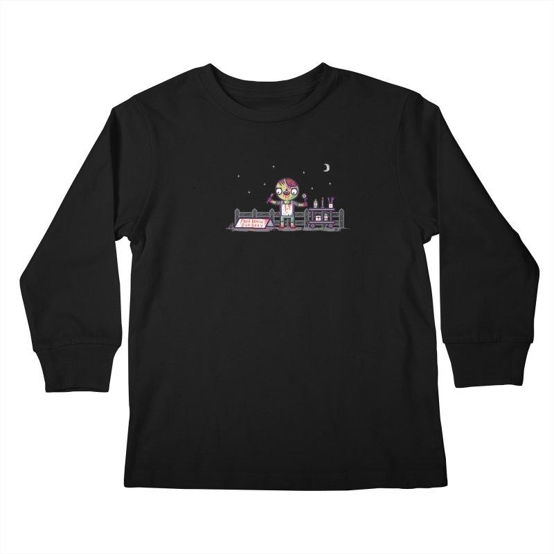 Brain surgery  Kids Longsleeve T-Shirt by Randyotter