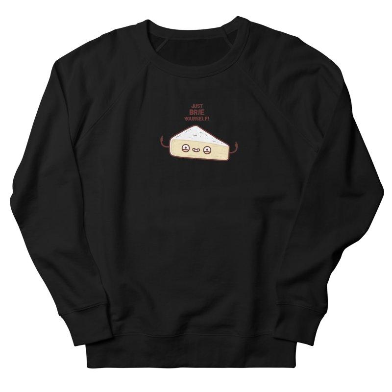 Brie yourself Men's Sweatshirt by Randyotter