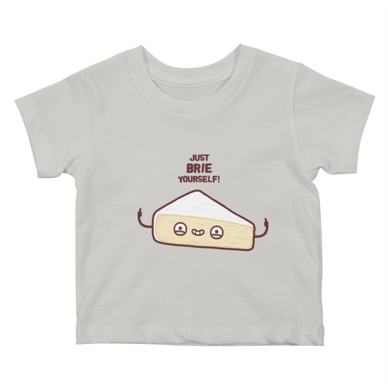 Brie yourself Kids Baby T-Shirt by Randyotter