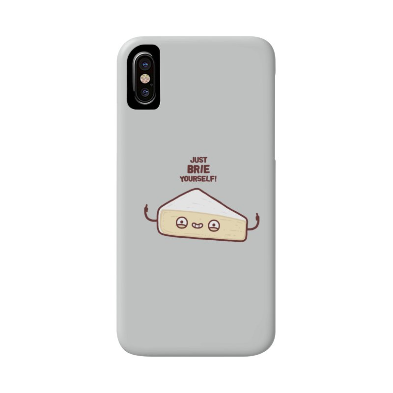 Brie yourself Accessories Phone Case by Randyotter