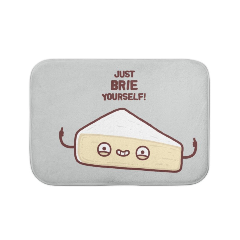 Brie yourself Home Bath Mat by Randyotter