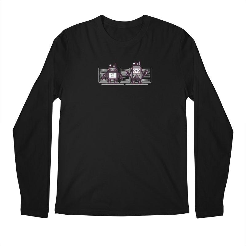 Buffering Men's Longsleeve T-Shirt by Randyotter
