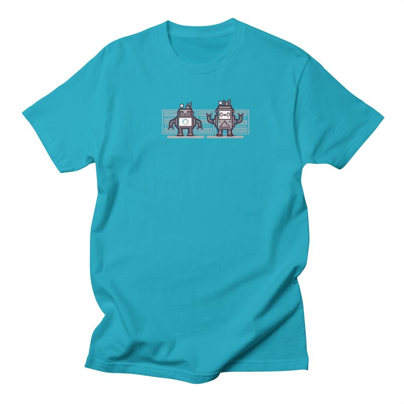 Buffering Men's T-shirt by Randyotter