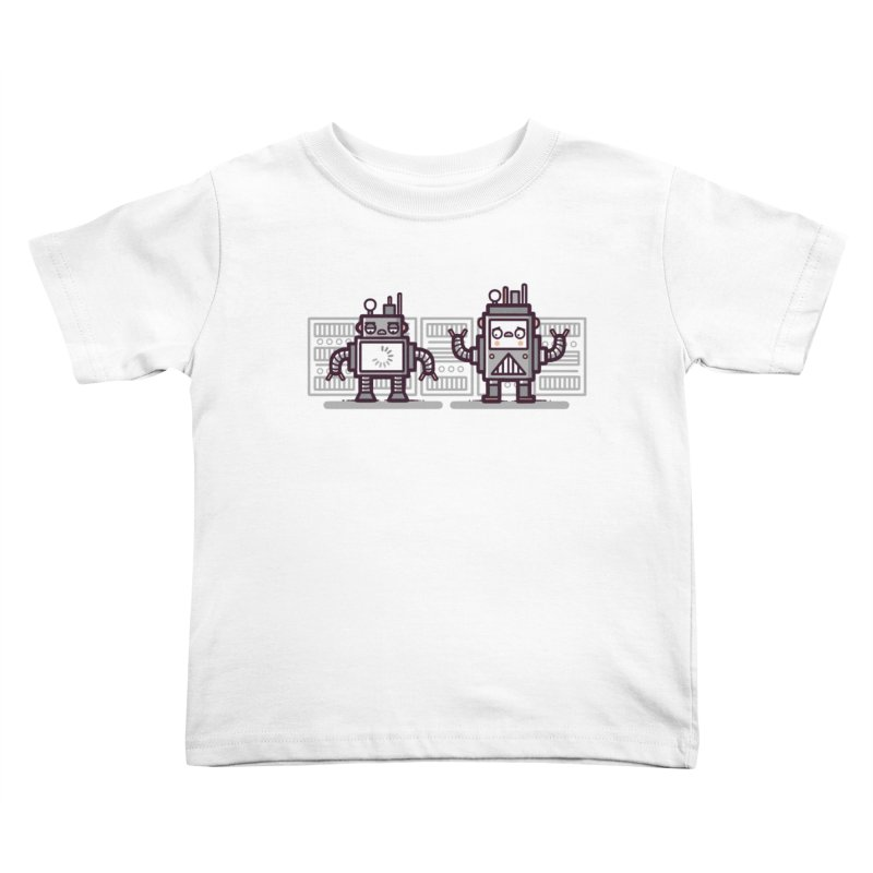 Buffering Kids Toddler T-Shirt by Randyotter