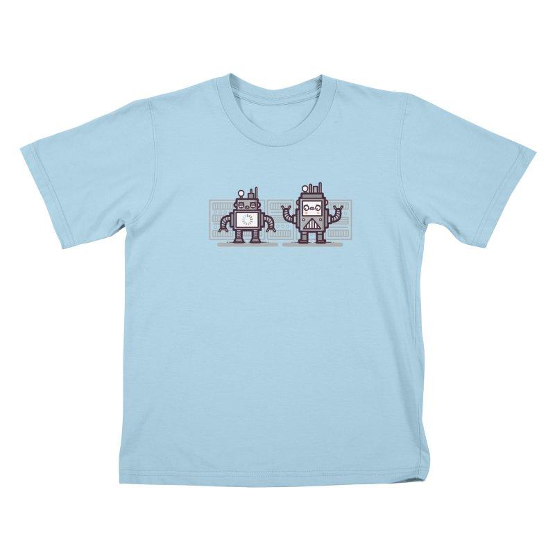 Buffering Kids T-shirt by Randyotter