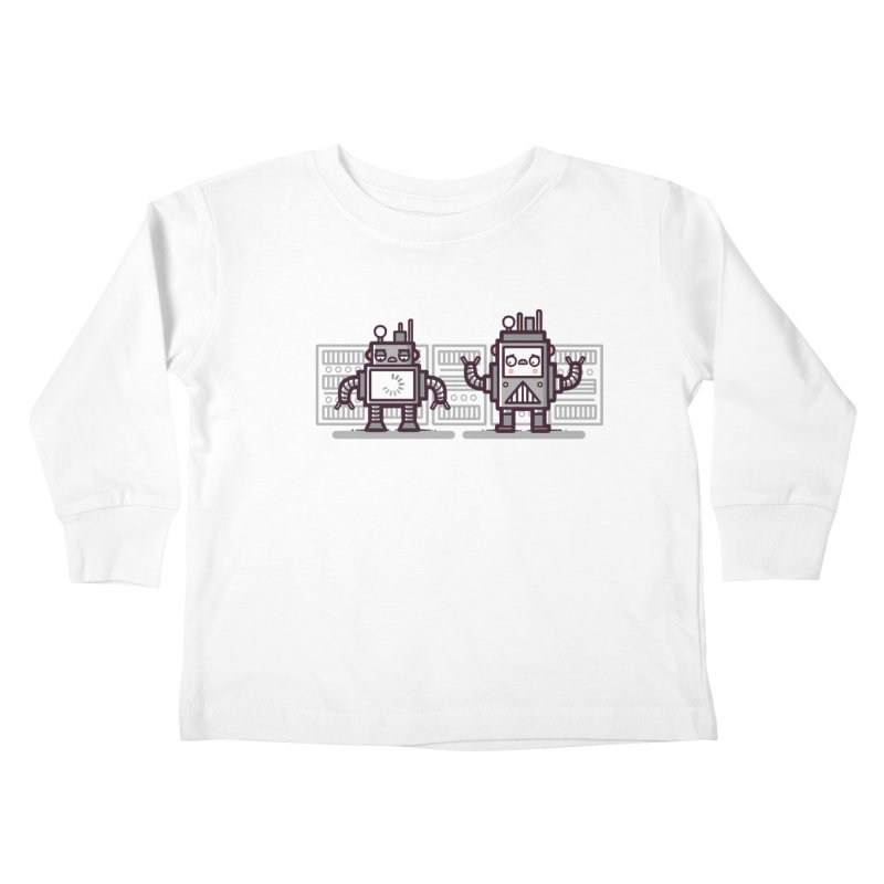 Buffering Kids Toddler Longsleeve T-Shirt by Randyotter