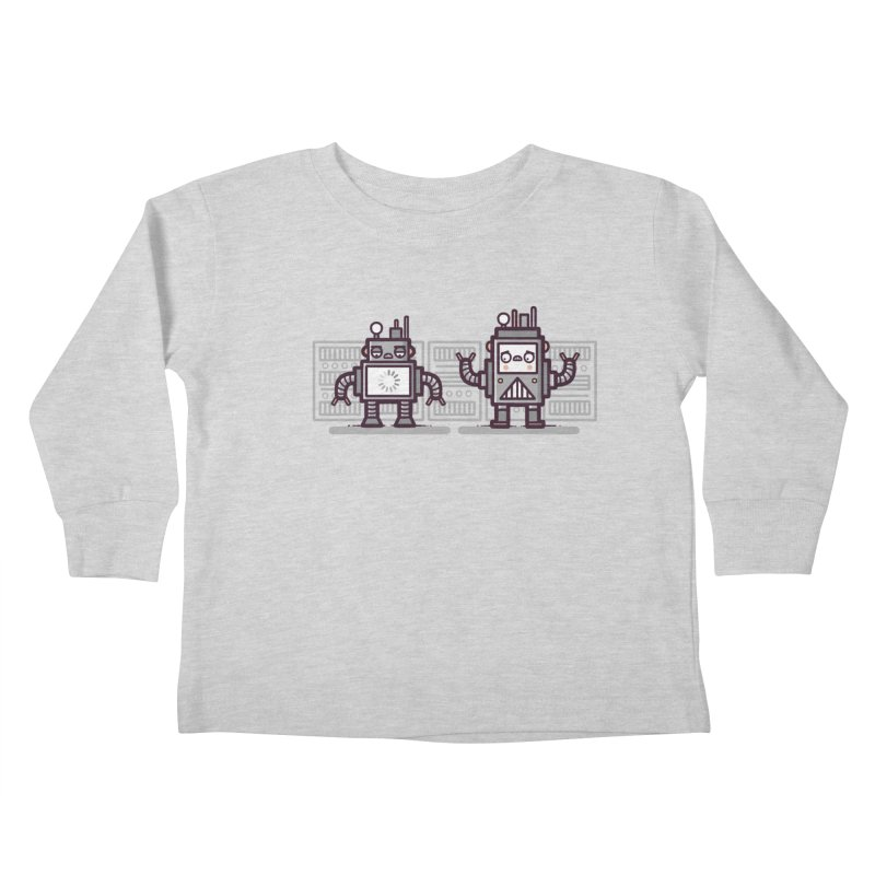 Buffering Kids Toddler Longsleeve T-Shirt by Randyotter