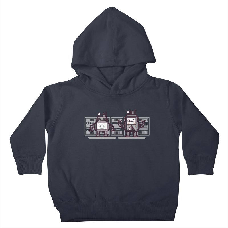 Buffering Kids Toddler Pullover Hoody by Randyotter