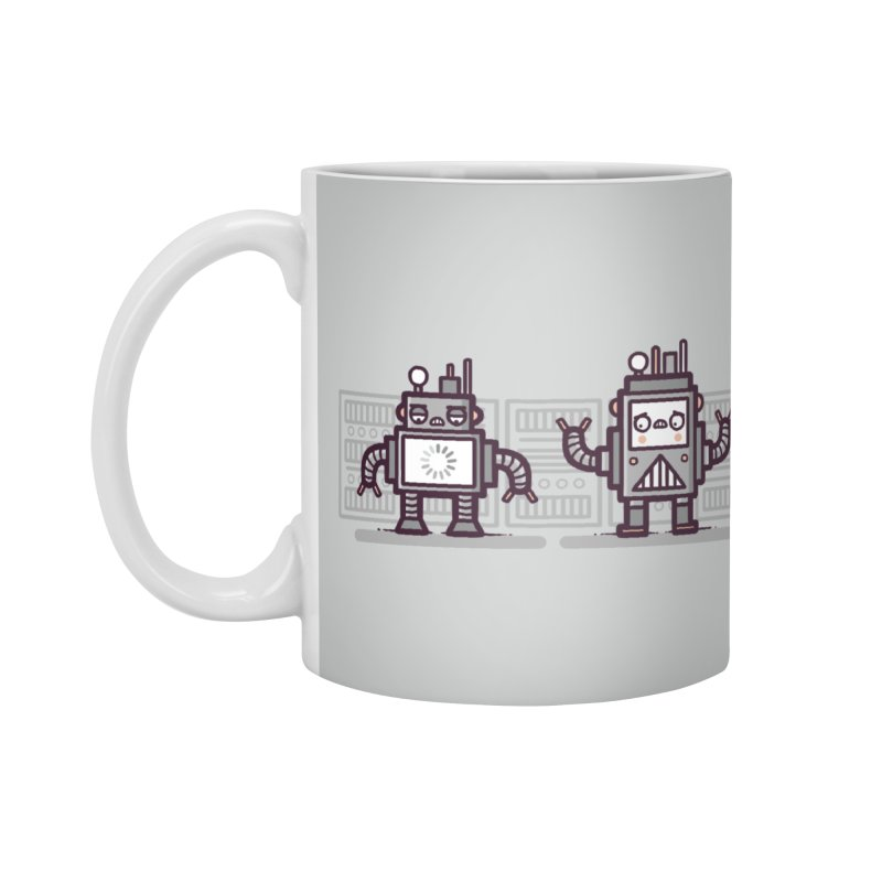 Buffering Accessories Mug by Randyotter
