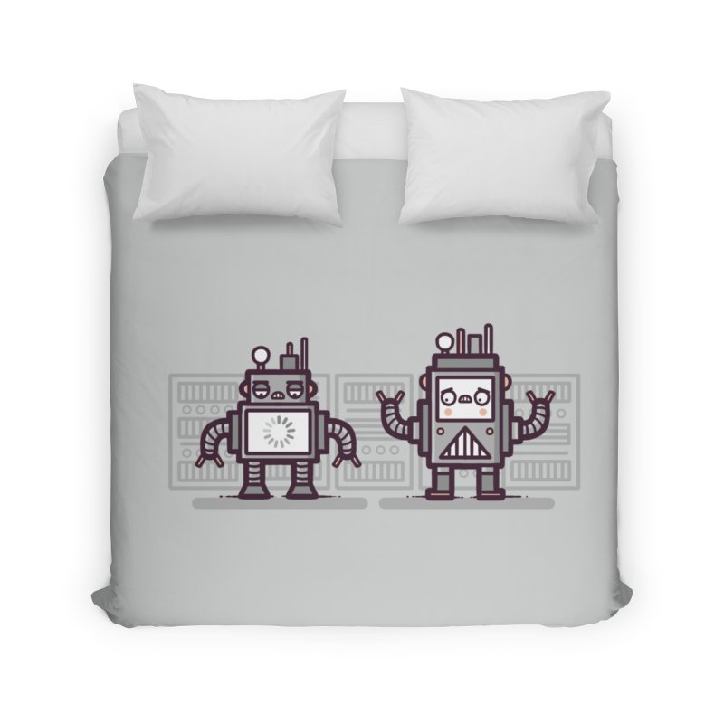 Buffering Home Duvet by Randyotter
