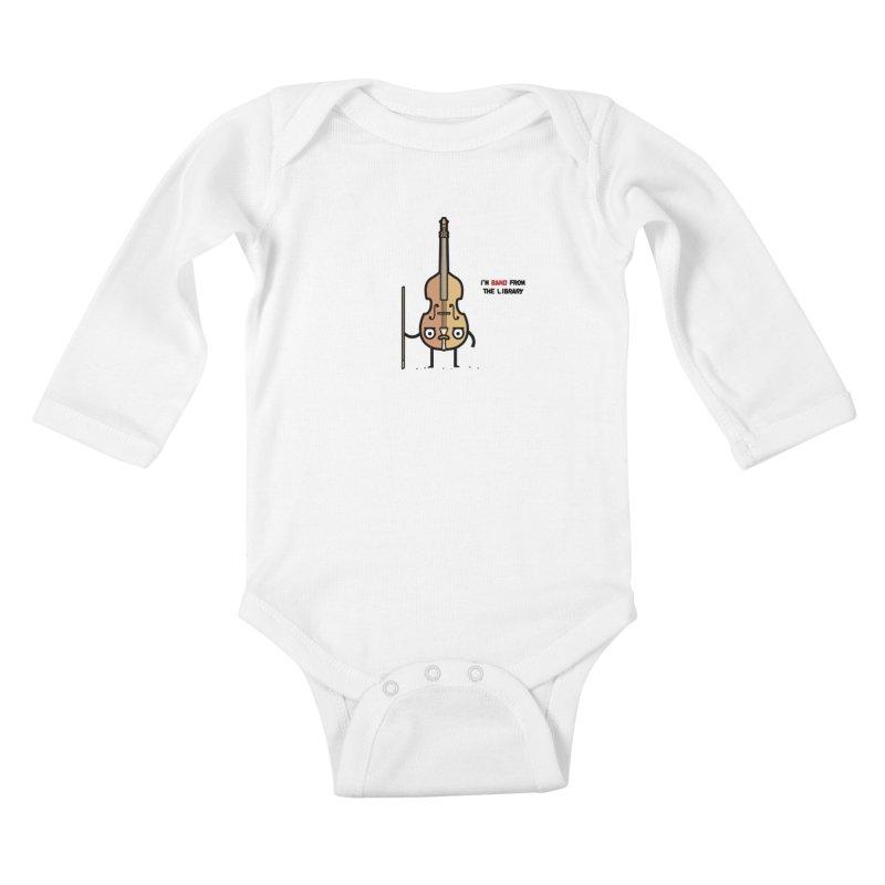 Band! Kids Baby Longsleeve Bodysuit by Randyotter