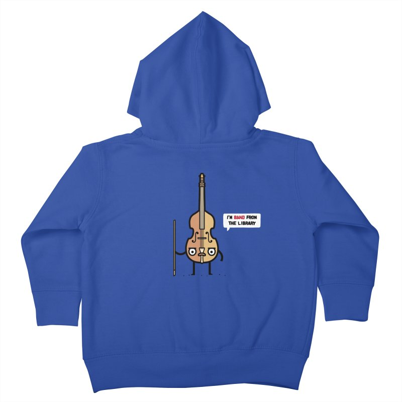 Band! Kids Toddler Zip-Up Hoody by Randyotter