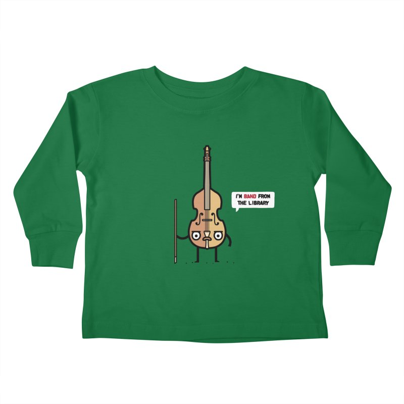 Band! Kids Toddler Longsleeve T-Shirt by Randyotter