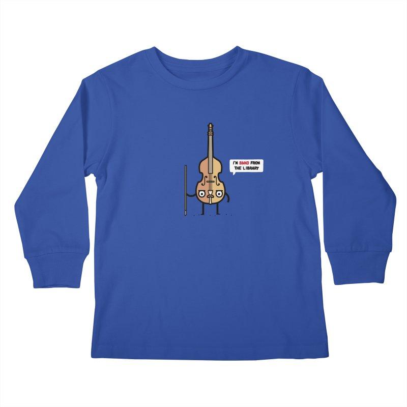 Band! Kids Longsleeve T-Shirt by Randyotter