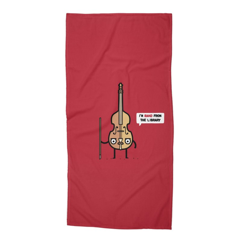 Band! Accessories Beach Towel by Randyotter