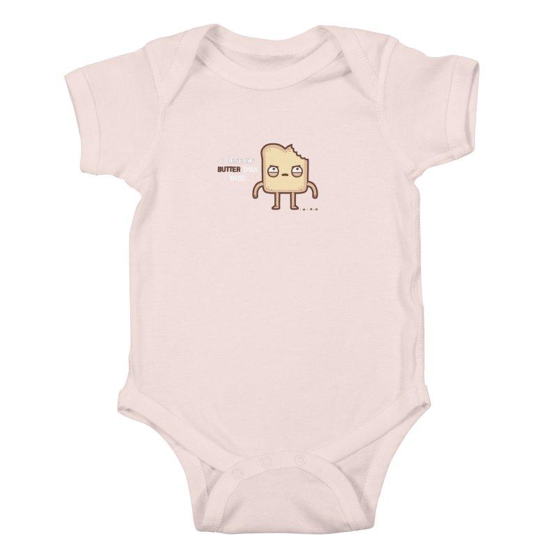 Butter Kids Baby Bodysuit by Randyotter