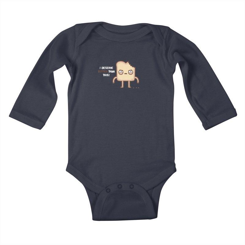 Butter Kids Baby Longsleeve Bodysuit by Randyotter