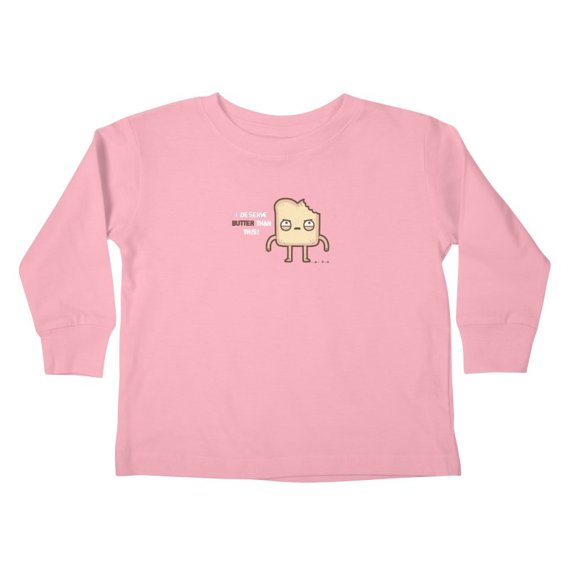 Butter Kids Toddler Longsleeve T-Shirt by Randyotter