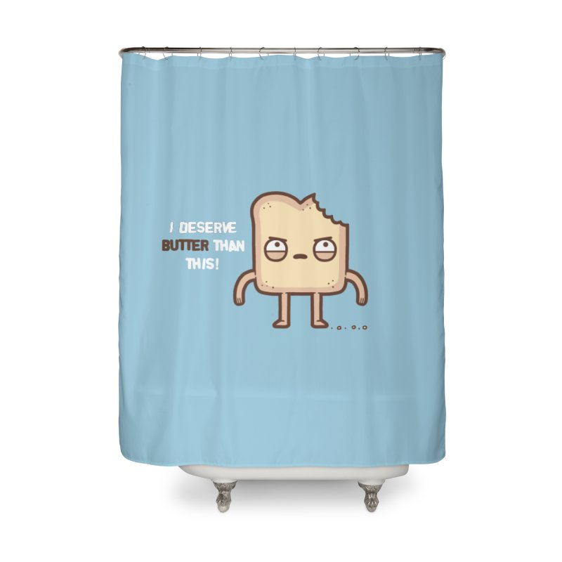 Butter Home Shower Curtain by Randyotter