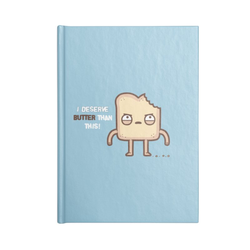 Butter Accessories Notebook by Randyotter