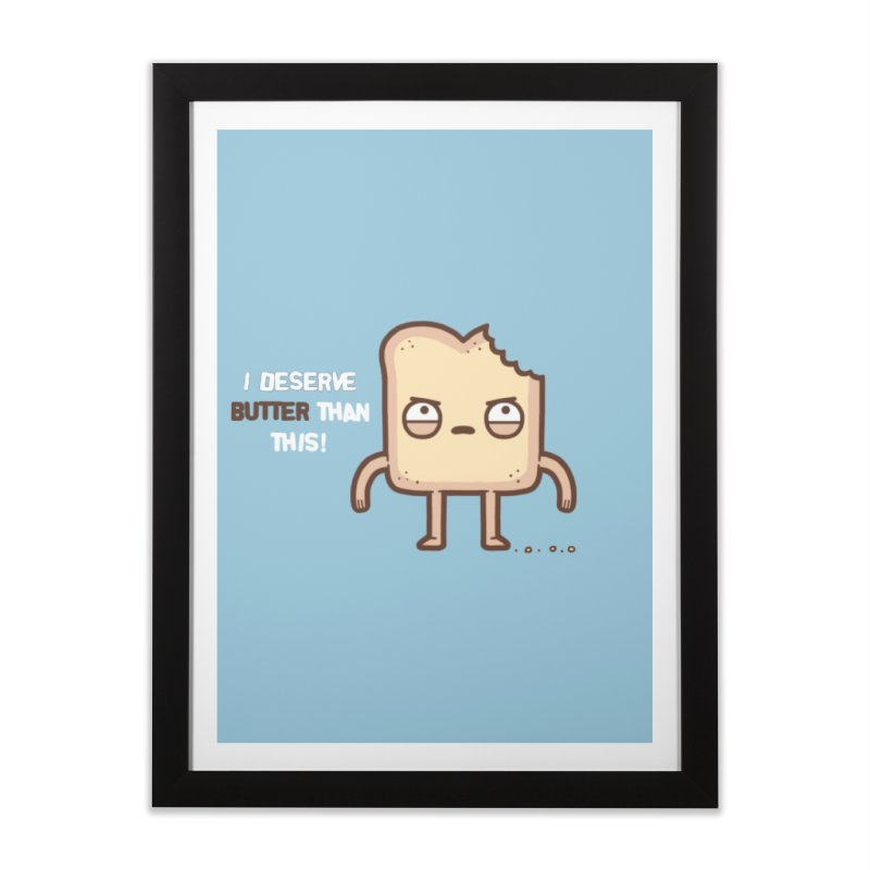 Butter Home Framed Fine Art Print by Randyotter